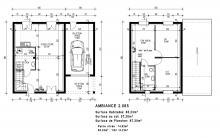 Modèle : AMBIANCE 2.085 - 85.00 m²
