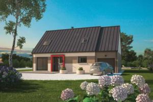 Constructeur Maisons Balency  - Modèle Aménagé 100