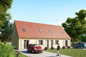 Constructeur Maisons Pierre - Modèle CAPITAL PLURIEL 86 x 2