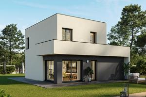 Constructeur Maisons France Confort  - Modèle Eco Concept R+1