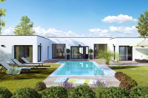 Constructeur Maison Privat - Modèle Esthetium 120