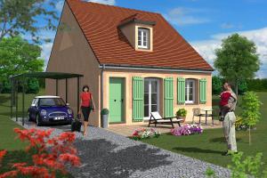 Constructeur Saciel Habitat - Modèle Illiers 3