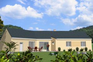 Constructeur Maisons Bernard Jambert - Modèle Maison de Plain-Pied