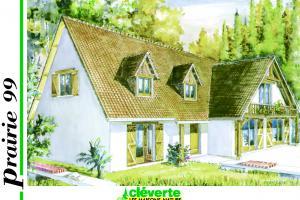 Constructeur Maisons Cleverte - Modèle Prairie 99
