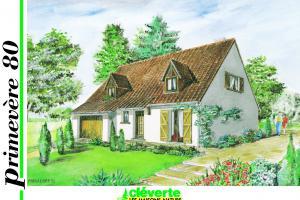 Constructeur Maisons Cleverte - Modèle Primevère 80