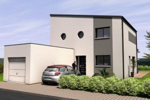 Constructeur Maisons Bernard Jambert - Modèle Toiture terrasse