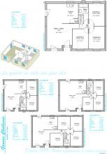 Modèle et plan de maison : Challenge 100 - 100.14 m²