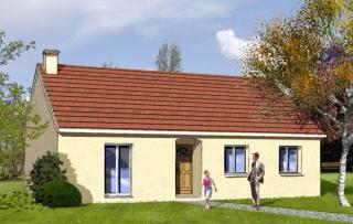 Modèle et plan de maison : Challenge 65 - 65.29 m²