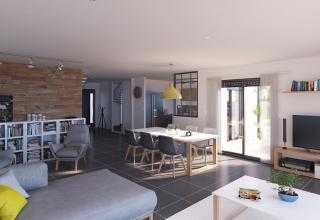 Modèle et plan de maison : DONZAC - 162.00 m²