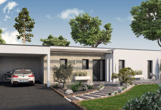 Modèle et plan de maison : MARTILLAC - 150.00 m²