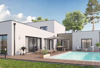 Modèle et plan de maison : MEZOS - 251.00 m²