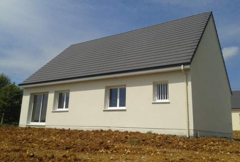 Vente Terrain + Maison - Terrain : 740m² - Maison : à Pont-Saint-Pierre (27360)