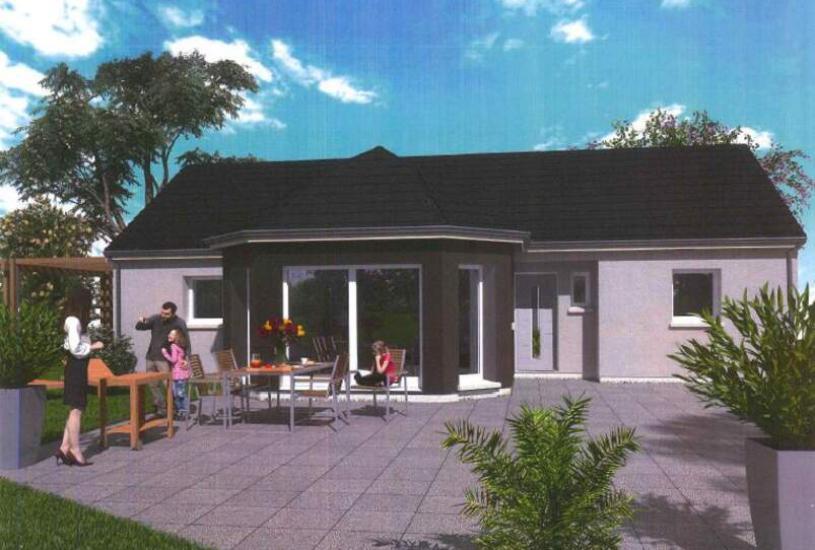 Vente Terrain + Maison - Terrain : 831m² - Maison : à Saint-Gâtien-des-Bois (14130)