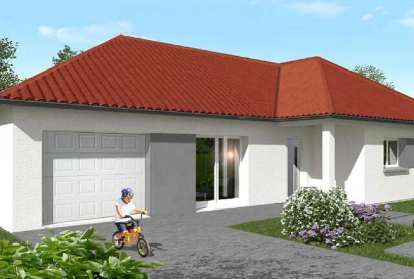 Vente Terrain + Maison - Terrain : 661m² - Maison : à Donnery (45450)