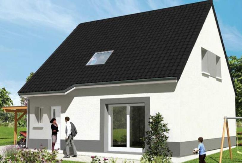 Vente Terrain + Maison - Terrain : 474m² - Maison : à Gidy (45520)