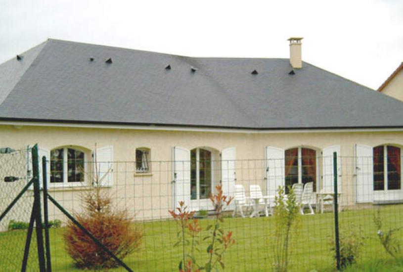 Vente Terrain + Maison - Terrain : 627m² - Maison : à Cléry-Saint-André (45370)