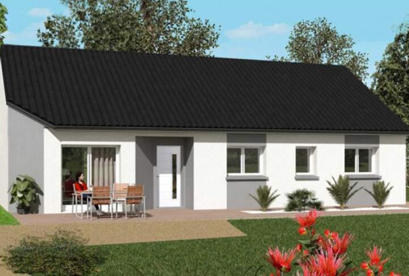 Vente Terrain + Maison - Terrain : 630m² - Maison : à Olivet (45160)