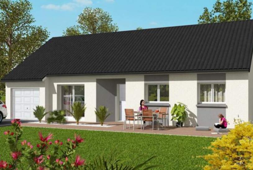 Vente Terrain + Maison - Terrain : 802m² - Maison : à Traînou (45470)