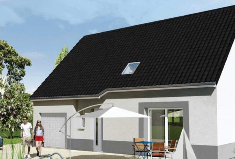 Vente Terrain + Maison - Terrain : 640m² - Maison : à Loury (45470)