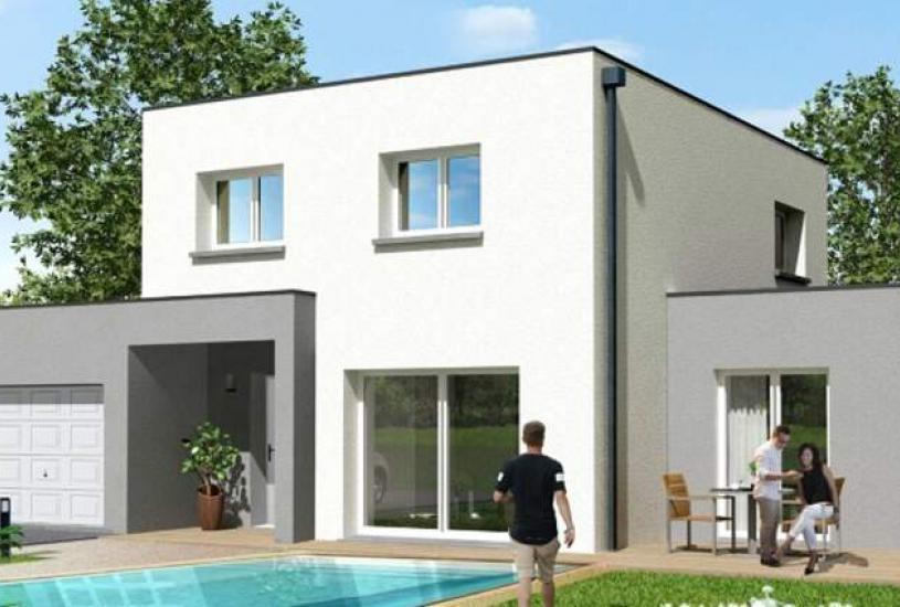 Vente Terrain + Maison - Terrain : 700m² - Maison : à Boulay-les-Barres (45140)