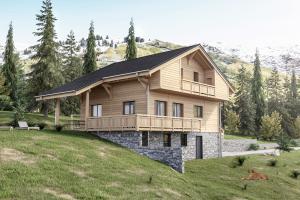 Constructeur Maisons Et Chalets Des Alpes - Modèle Aravis 113