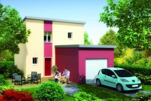 Constructeur Maisons Pierre - Modèle ATTITUDE 2.093 A GI