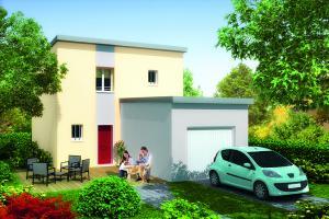 Constructeur Maisons Pierre - Modèle ATTITUDE 2.093 B GI