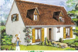 Constructeur Maisons Cleverte - Modèle Azalée 70