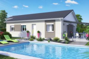 Constructeur Maisons Et Chalets Des Alpes - Modèle C-Line (modèle présenté XL 91m2)
