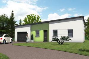 Constructeur Maisons TÉva - Modèle Kilia toit plat