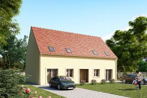 Constructeur Maisons Pierre - Modèle CAPITAL SELECTION 88 x 2