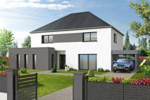 Constructeur Maisons D'en France Haute-normandie - Modèle CELADON