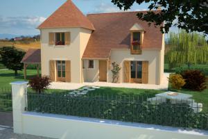 Constructeur Maisons France Confort  - Modèle Châtelaine 120 T
