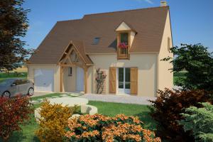 Constructeur Maisons France Confort  - Modèle Châtelaine 140