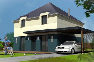 Constructeur Maisons Concept - Modèle City E69