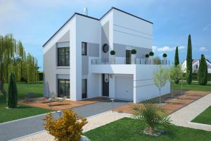 Constructeur Maisons France Confort  - Modèle Concept 100