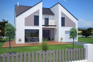 Constructeur Maisons France Confort  - Modèle Concept 110