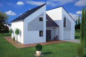 Constructeur Maisons France Confort  - Modèle Concept 130