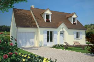 Constructeur Maisons France Confort  - Modèle Cottage 100
