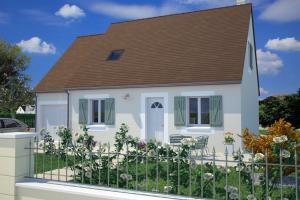 Constructeur Maisons France Confort  - Modèle Cottage 105