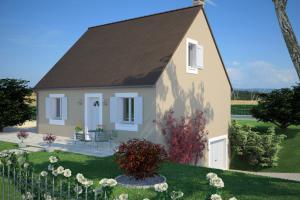 Constructeur Maisons France Confort  - Modèle Cottage 110