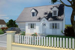Constructeur Maisons France Confort  - Modèle Cottage 120