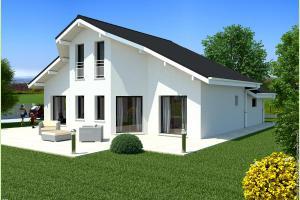 Constructeur Maisons Et Chalets Des Alpes - Modèle Eta