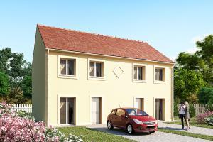Constructeur Maisons Pierre - Modèle HORIZON 79 x 2