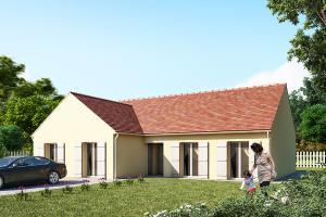 Constructeur Maisons Pierre - Modèle EXPANTIEL 4.128