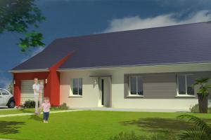 Constructeur Maisons Concept - Modèle Harmonie 124