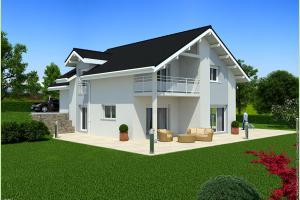 Constructeur Maisons Et Chalets Des Alpes - Modèle Iota