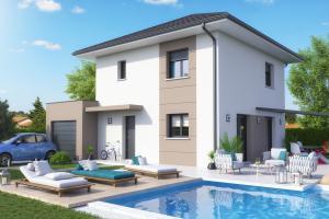 Constructeur Maisons Et Chalets Des Alpes - Modèle Iris (modèle présenté 99m2)