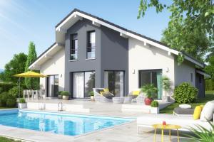 Constructeur Maisons Et Chalets Des Alpes - Modèle Lotus 117