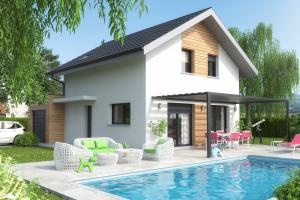 Constructeur Maisons Et Chalets Des Alpes - Modèle Lys (modèle présenté 107m2)